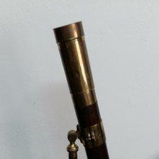 Antigüedades: GRAN CATALEJO CON TRIPODE, S.XIX. 110 CM. Lote 91227095