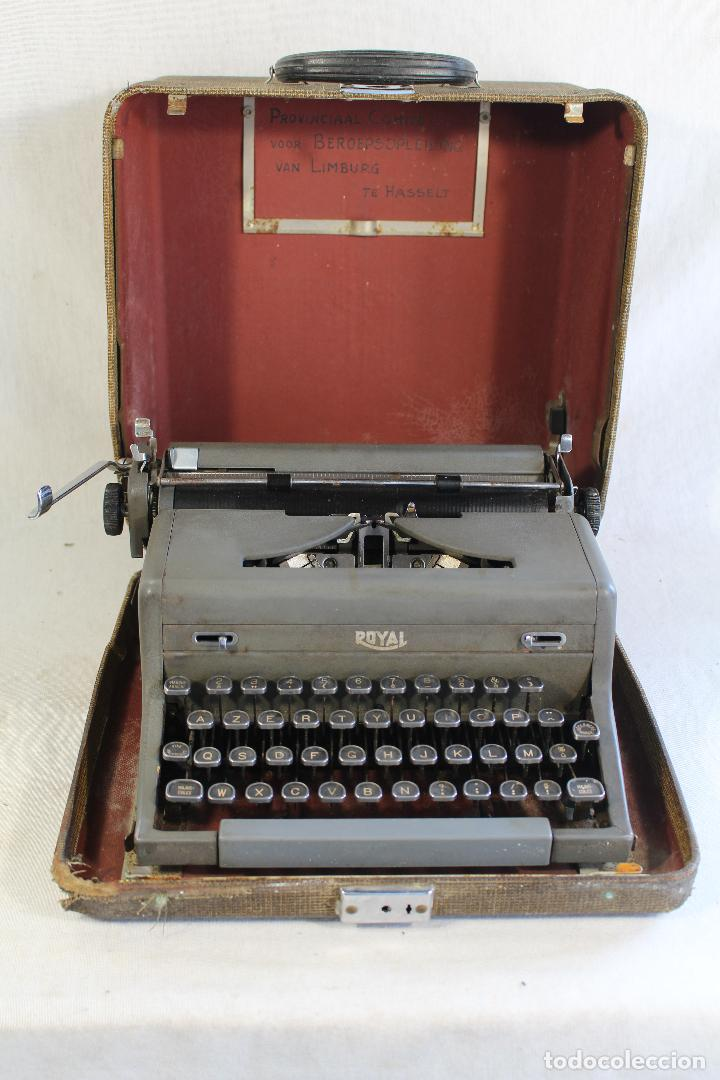 MAQUINA DE ESCRIBIR ANTIGUA ROYAL PORTATIL (Antigüedades - Técnicas - Máquinas de Escribir Antiguas - Royal)