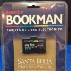 Antigüedades: TRADUCTOR FRANKLIN BOOKMAN SPB 2053 SANTA BIBLIA ¡ NUEVO ! DICCIONARIO. Lote 91504670