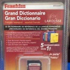 Antigüedades: TRADUCTOR FRANKLIN SD, BFE 500857 ESPAÑOL {{ }} FRANCES ¡ NUEVO ! DICCIONARIO. Lote 91505285
