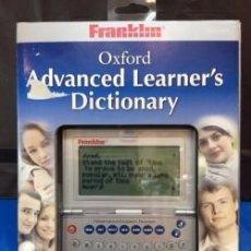 Antigüedades: DICCIONARIO FRANKLIN OXFORD OALD 470 INGLES ¡ NUEVO ! DICCIONARIO. Lote 207756838