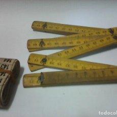 Antigüedades: ANTIGUOS METROS. Lote 91571135