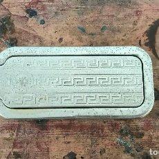 Antigüedades: AFILADOR DE CUCHILLAS DE AFEITAR ROLLS RAZOR 1927. Lote 91605660