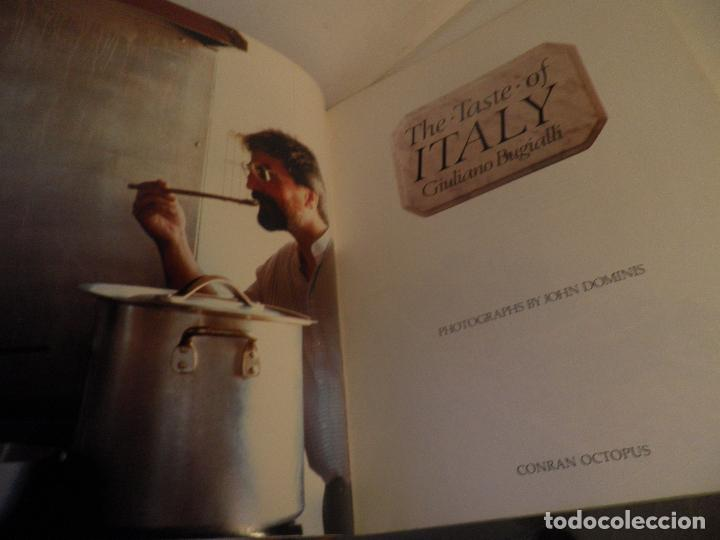 Antigüedades: TASTE OF ITALY , GIULIANO BUGIALLI, PHOTOGRAPHS BY JOHN DOMINIS, 1988 , COCINA ITALIANA EN INGLES - Foto 3 - 91654285