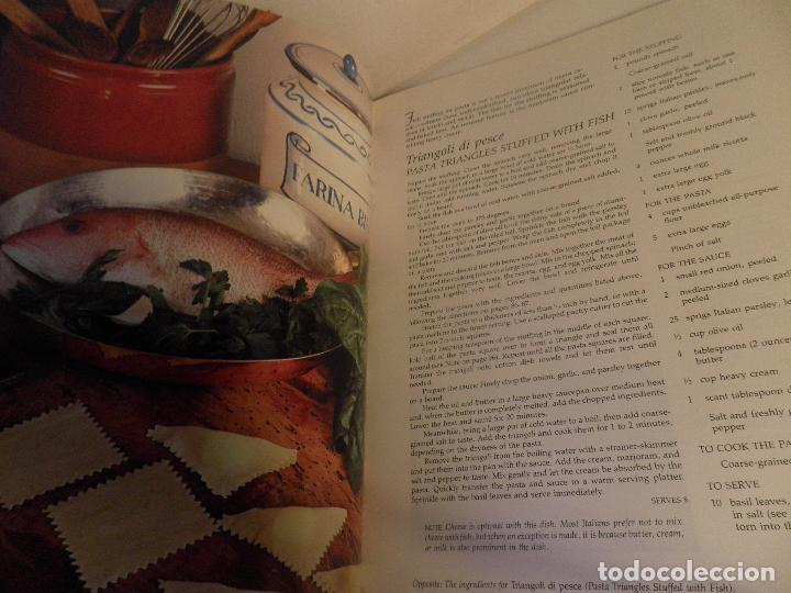 Antigüedades: TASTE OF ITALY , GIULIANO BUGIALLI, PHOTOGRAPHS BY JOHN DOMINIS, 1988 , COCINA ITALIANA EN INGLES - Foto 8 - 91654285