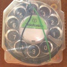 Teléfonos: RECAMBIO DIAL PARA TELÉFONO GÓNDOLA AÑOS 70 80 TELEFÓNICA DISCO. Lote 295465683