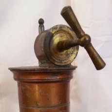 Antigüedades: IRRIGADOR ANTIGUO PRINCIPIOS 1.900 EN COBRE. ORIGEN FRANCÉS. ANCIENT IRRIGATOR PRINCIPLES 1.900. Lote 91704325