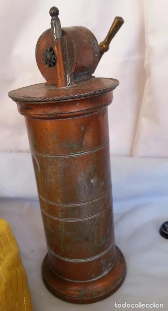 Antigüedades: IRRIGADOR ANTIGUO PRINCIPIOS 1.900 EN COBRE. ORIGEN FRANCÉS. ANCIENT IRRIGATOR PRINCIPLES 1.900 - Foto 4 - 91704325