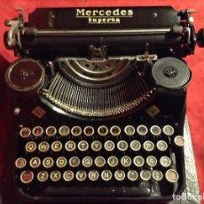 Antigüedades: MAQUINA ESCRIBIR MERCEDES SUPERBA. Lote 91755955