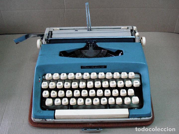 MÁQUINA DE ESCRIBIR MARITSA 12 (Antigüedades - Técnicas - Máquinas de Escribir Antiguas - Otras)