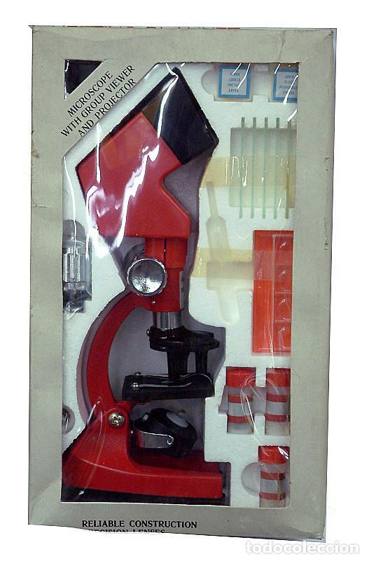 MICROSCOPIO JUVENIL (Antigüedades - Técnicas - Instrumentos Ópticos - Microscopios Antiguos)