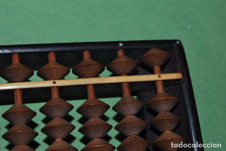 Antigüedades: ÁBACO JAPONÉS - SOROBAN - MADERA Y BAQUELITA - JAPÓN - AÑOS 20-30 - Foto 5 - 91917645