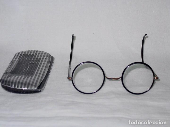 Antigüedades: GAFAS CON FUNDA. PRINCIPIOS 1900 - Foto 12 - 92015370