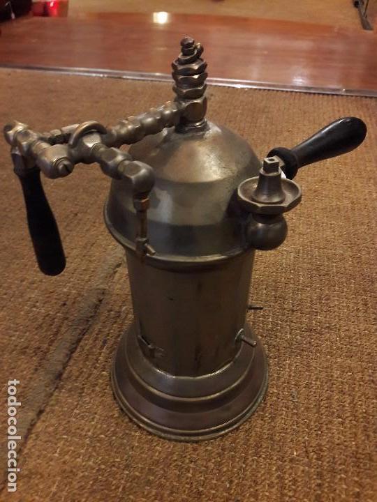 Antigüedades: ANTIGUO APARATO MÉDICO, PROBABLEMENTE PARA HACER VAHO - Foto 2 - 92060385