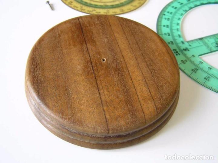 Antigüedades: CIRCO NORM 987 989N CIRCULO GRADUADO FABER CASTELL - REGLA DE CALCULO SLIDE RULE RECHENSCHIEBER - Foto 33 - 92346150