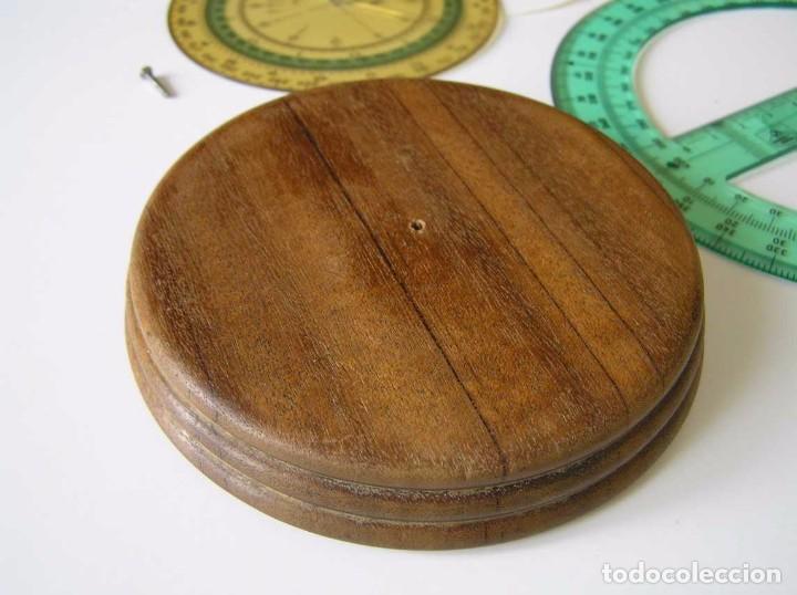 Antigüedades: CIRCO NORM 987 989N CIRCULO GRADUADO FABER CASTELL - REGLA DE CALCULO SLIDE RULE RECHENSCHIEBER - Foto 34 - 92346150