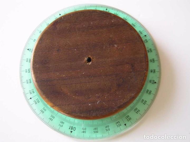 Antigüedades: CIRCO NORM 987 989N CIRCULO GRADUADO FABER CASTELL - REGLA DE CALCULO SLIDE RULE RECHENSCHIEBER - Foto 41 - 92346150