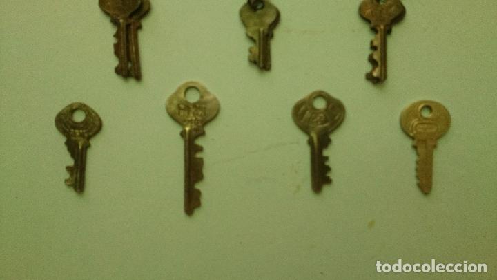 Antigüedades: Llaves de candado marca RGM - Foto 2 - 92391990