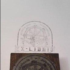 Antigüedades: ANTIGUO SELLO DE EX LIBRIS. Lote 92408520