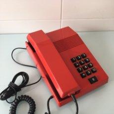 Teléfonos: TELÉFONO TEIDE ROJO - VINTAGE ORIGINAL AÑOS 80. Lote 92807155