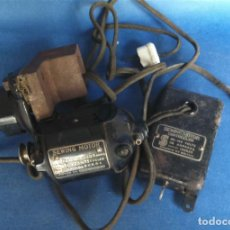 Antigüedades: ANTIGUO MOTOR SERIE MARCA SINGER, 125V. Lote 92810650