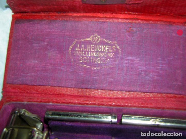 Antigüedades: MAQUINILLA DE AFEITAR MUY ANTIGUA, J. A. HENCKELS - Foto 3 - 92823155