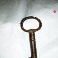 Antigüedades: LLAVE DE FORJA ANTIGUA DEL S XVIII . Lote 92834200