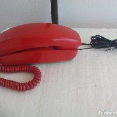 Teléfonos: TELÉFONO GONDOLA ROJO. TELEFÓNICA, CITESA, MÁLAGA. RETRO VINTAGE. Lote 97588116