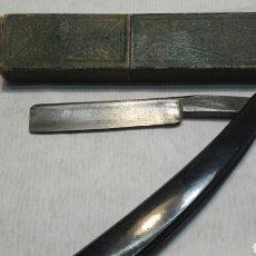 Antigüedades: NAVAJA ANTIGUA FILARMÓNICA DOBLE TEMPLE JOSE MONSERRAT POU. Lote 105610210