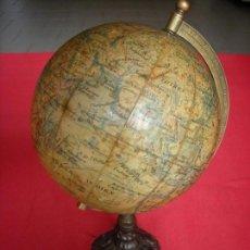 Antigüedades: GLOBO TERRESTRE BOLA DEL MUNDO GLOBE LEBEGUE 1825. Lote 92895820