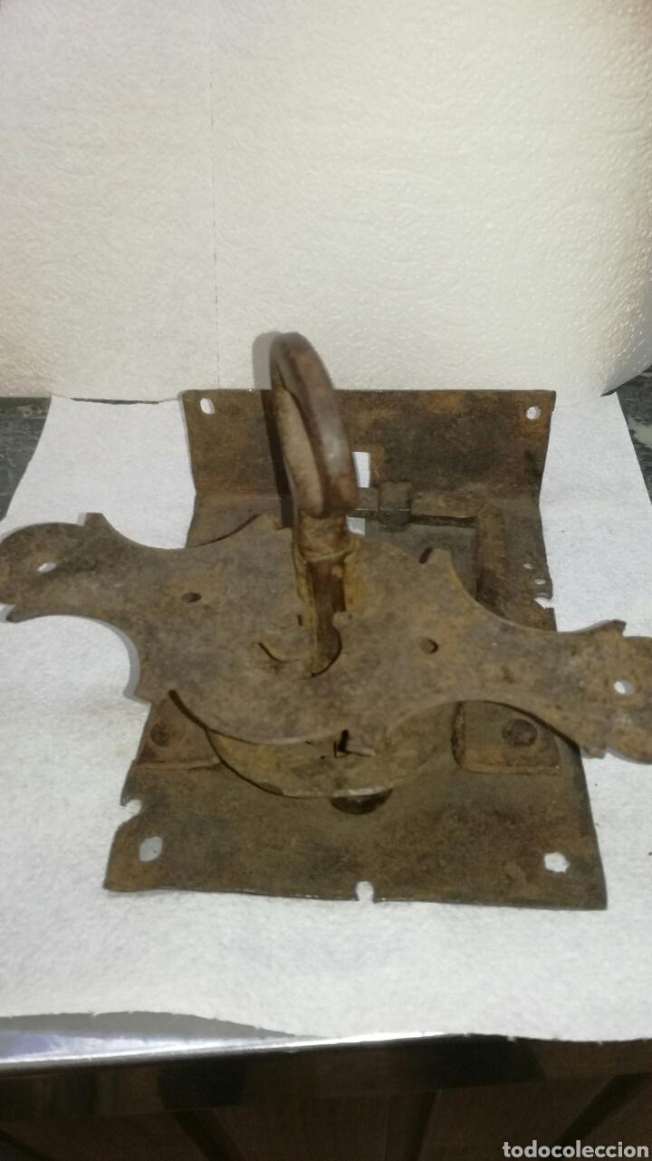 CERRADURA DE FORJA (Antigüedades - Técnicas - Cerrajería y Forja - Cerraduras Antiguas)