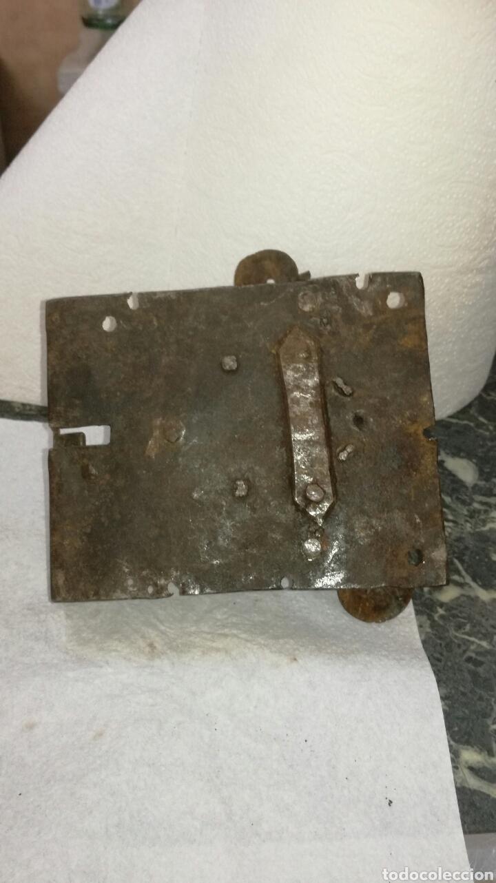 Antigüedades: Cerradura de forja - Foto 2 - 92995040