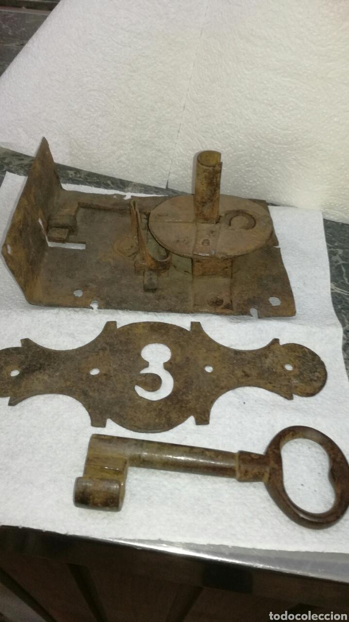 Antigüedades: Cerradura de forja - Foto 3 - 92995040