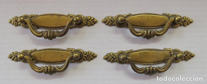 LOTE TIRADORES ANTIGUOS (Antigüedades - Técnicas - Cerrajería y Forja - Tiradores Antiguos)