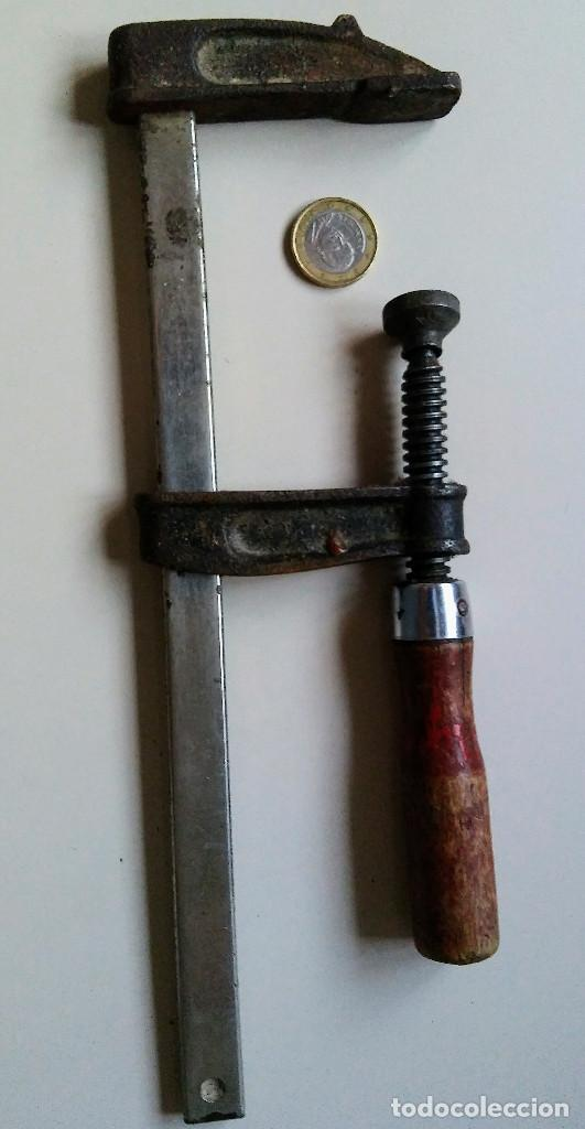 ANTIGUO SARGENTO GATO (Antigüedades - Técnicas - Herramientas Profesionales - Mecánica)