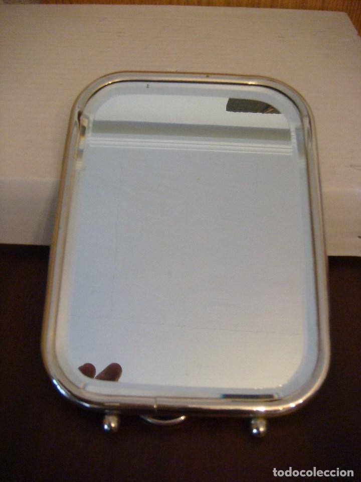 espejo de sobremesa marco de aluminio (#) - Comprar Objetos Barbería ...