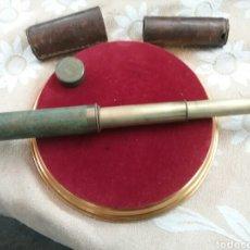 Antigüedades: CATALEJO ANTIGUO AÑOS 1880; 20 CM CERRADO 38 CM ABIERTO.. Lote 93222749