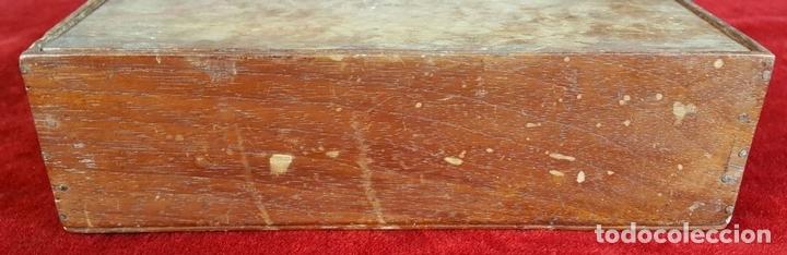 Antigüedades: SET DE BARBERO. CORTA PELO. 3 NAVAJAS Y CINTA DE AFILAR. SIGLO XIX-XX. - Foto 6 - 93237040