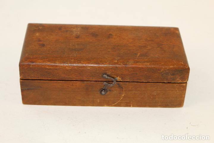 Antigüedades: juego de 7 pesas - ponderales en bronce pesas en bronce grabadas - Foto 6 - 95722638