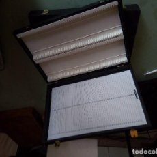 Antigüedades: BOX, CAJA ALMACÉN DE PORTAOBJETOS PARA MICROSCOPIA.. Lote 93598995