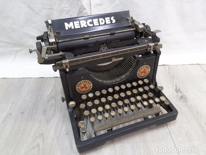 MERCEDES N°4, 1920 (Antigüedades - Técnicas - Máquinas de Escribir Antiguas - Mercedes)