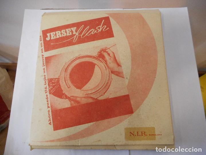 Antigüedades: Tricotadora Jersey flash para tejer - Foto 3 - 93649765