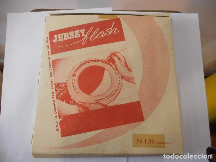 Antigüedades: Tricotadora Jersey flash para tejer - Foto 4 - 93649765