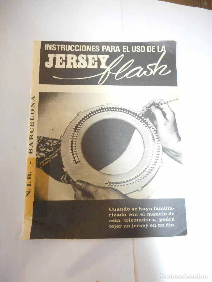 Antigüedades: Tricotadora Jersey flash para tejer - Foto 5 - 93649765