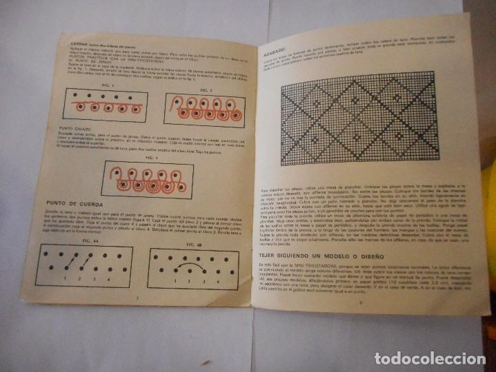 Antigüedades: Tricotadora Jersey flash para tejer - Foto 7 - 93649765