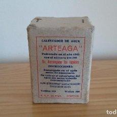 Antigüedades: ANTIGUO CALENTADOR DE AGUA ARTEAGA. Lote 93692895