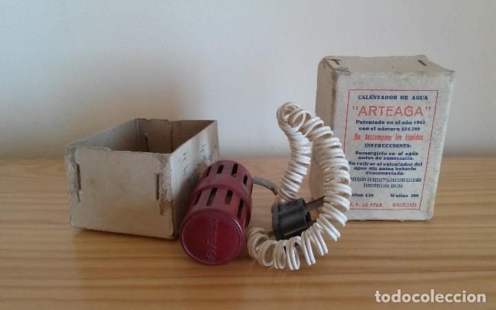 Antigüedades: Antiguo calentador de agua Arteaga - Foto 3 - 93692895