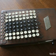 Antigüedades: CALCULADORA COMPTOMETER FELT & TARRANT MFG. CO CHICAGO AÑOS 20 CALCULATOR. Lote 93700545