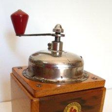 Antigüedades: MOLINILLO DE CAFÉ MARCA LEHNARTZ. MODELO 140. ALEMANIA. CA. 1950/60. Lote 93714545