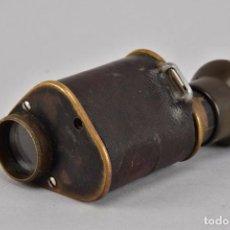 Antigüedades: ANTIGUO Y RARO MONOCULAR X4V86 C.P. GOERZ BERLÍN, FINALES DEL XIX AÑO 1900 FIRMADO 198,00 €. Lote 93716680